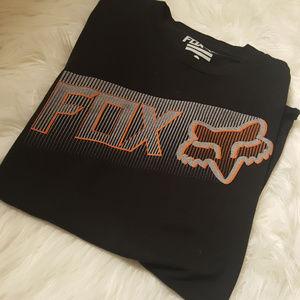 mens medium black fox t shirt bundle